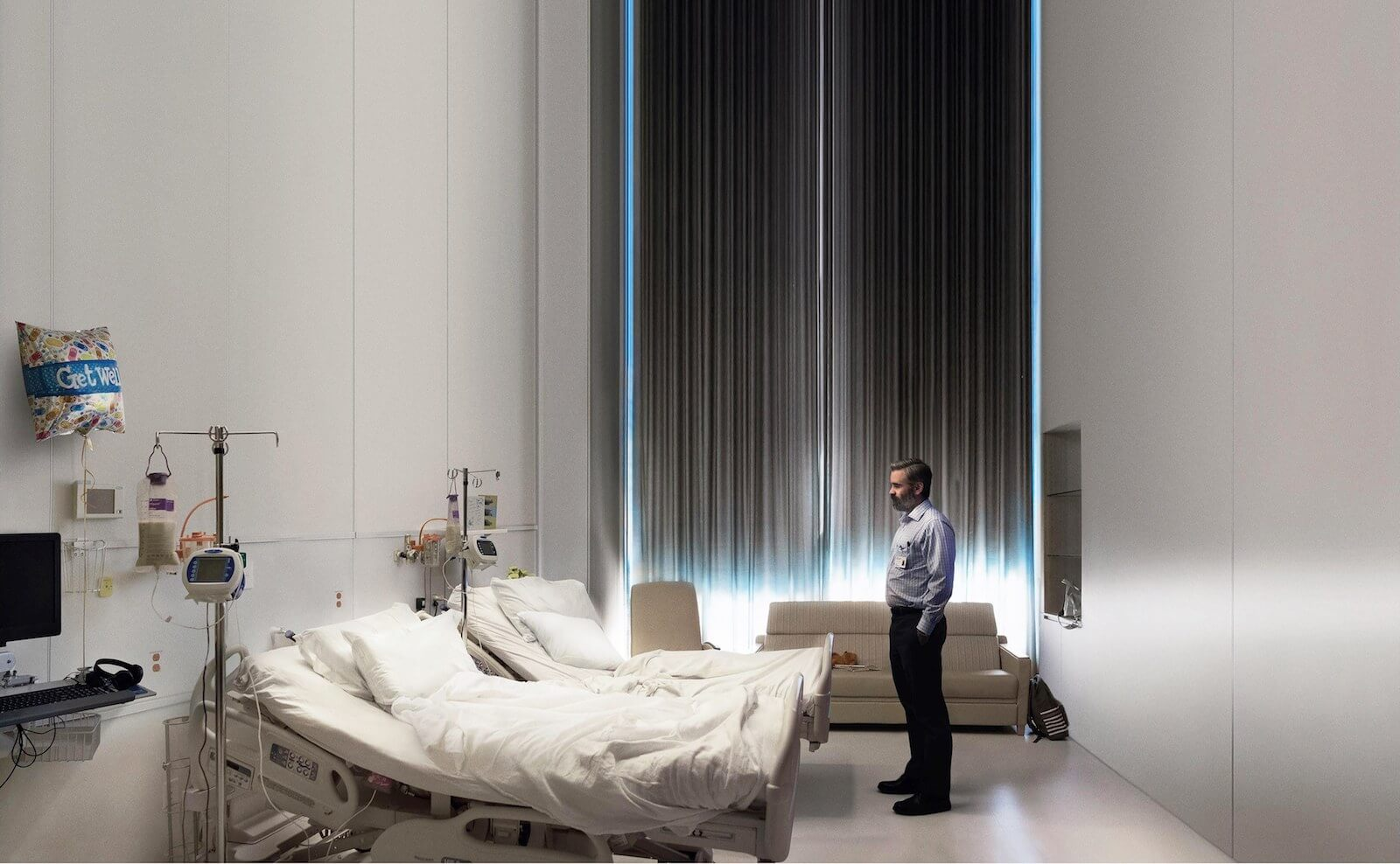 How structure keeps an audience from questioning the absurd in The Killing of a Sacred Deer